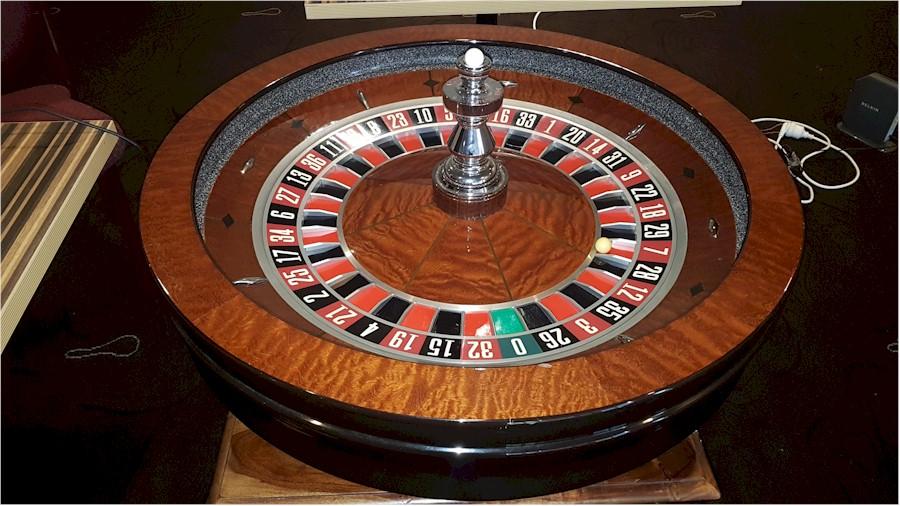 Huxley roulette wheel.