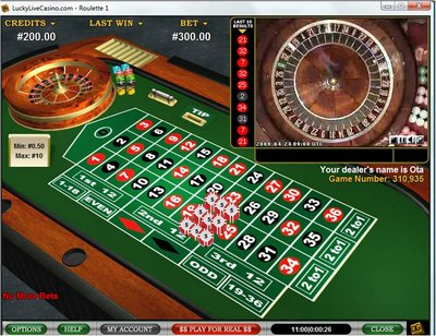 Play Virtual Roulette