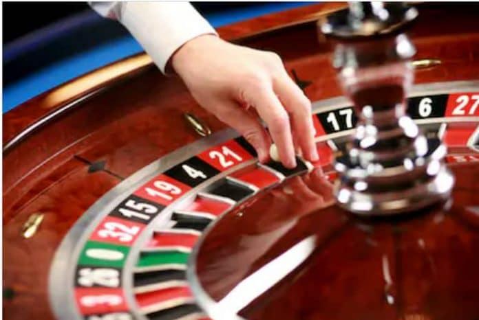 Ex casino roulette wheel