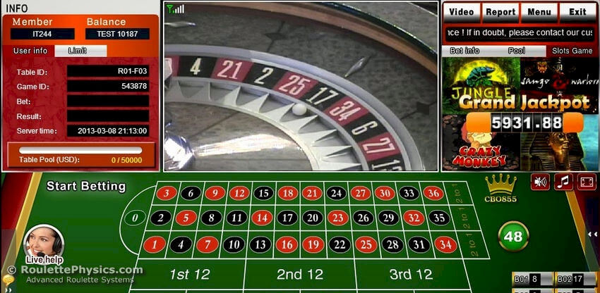 Sugarhouse casino video roulette