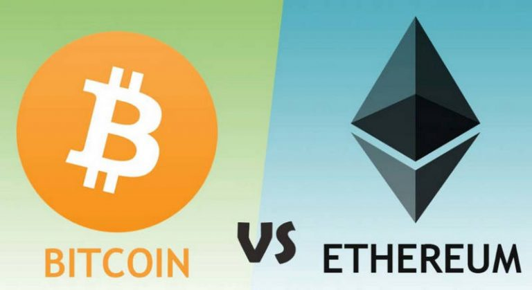Bitcoin versus Ethereum: What's the Difference?