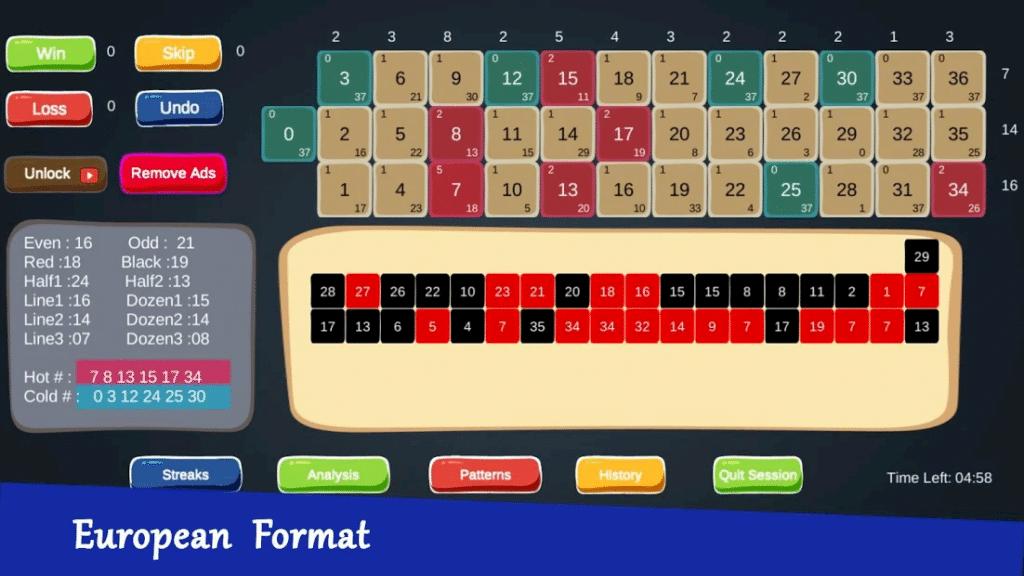 Roulette Tracker Pro